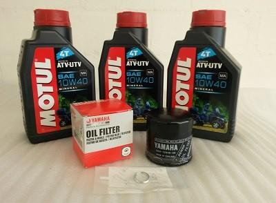 Ölwechselpaket für Yamaha Grizzly 700