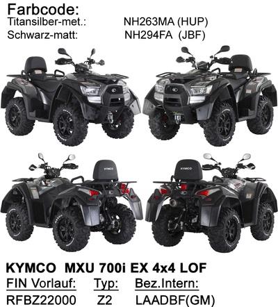 Ersatzteile MXU 700 EXi LOF