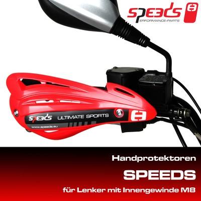 Speeds Handschutz Kymco Maxxer / MXU verschiedene Farben