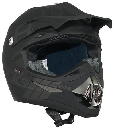 Speeds Cross Helm mattschwarz