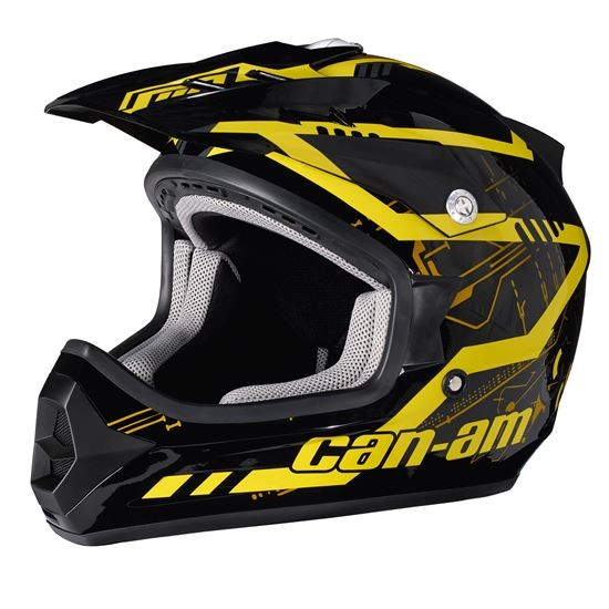 Can-Am X-1 Cross Mission Helm Gr.M