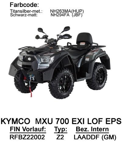 Ersatzteile MXU 700 EXi LOFEPS