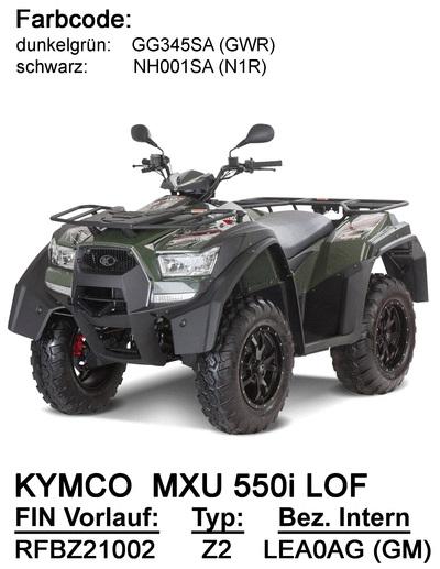 Ersatzteile MXU 550i LOF