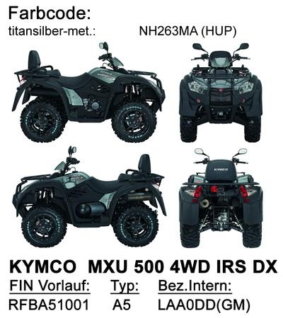 Ersatzteile MXU 500 IRS DX LOF