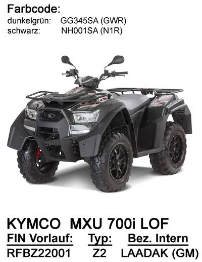 Ersatzteile MXU 700i LOF(LAADAK)