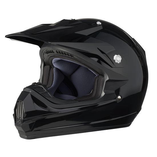 Can-Am XC-3-Helm schwarz