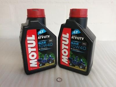Ölwechselpaket für Kymco MXU 250