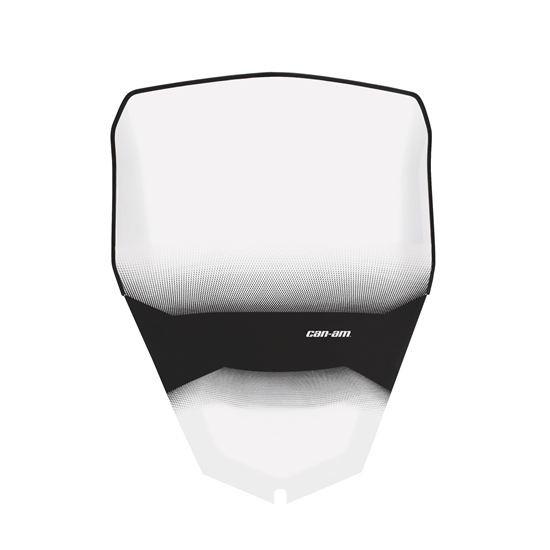 Can-Am Windschild 28 cm für Delux Frontverkleidung