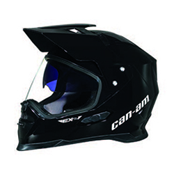 can am ex 2 enduro helm schwarz can am helme can am. Black Bedroom Furniture Sets. Home Design Ideas