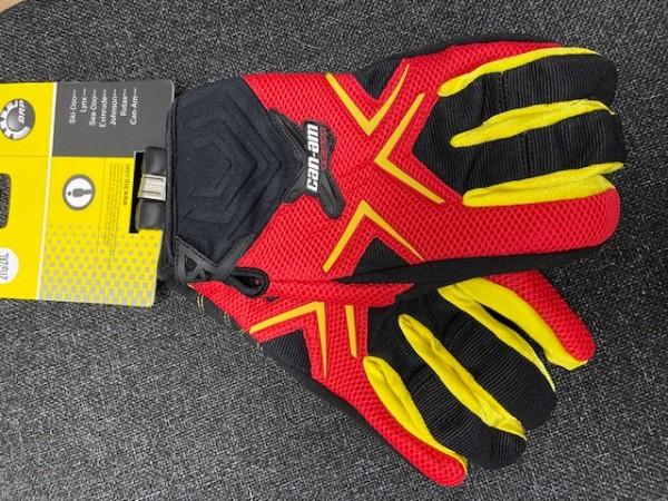 Can-Am X-Racing-Handschuhe rot