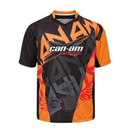 Can-Am kurzärmliges X-Racing-Trikot orange Gr.XL