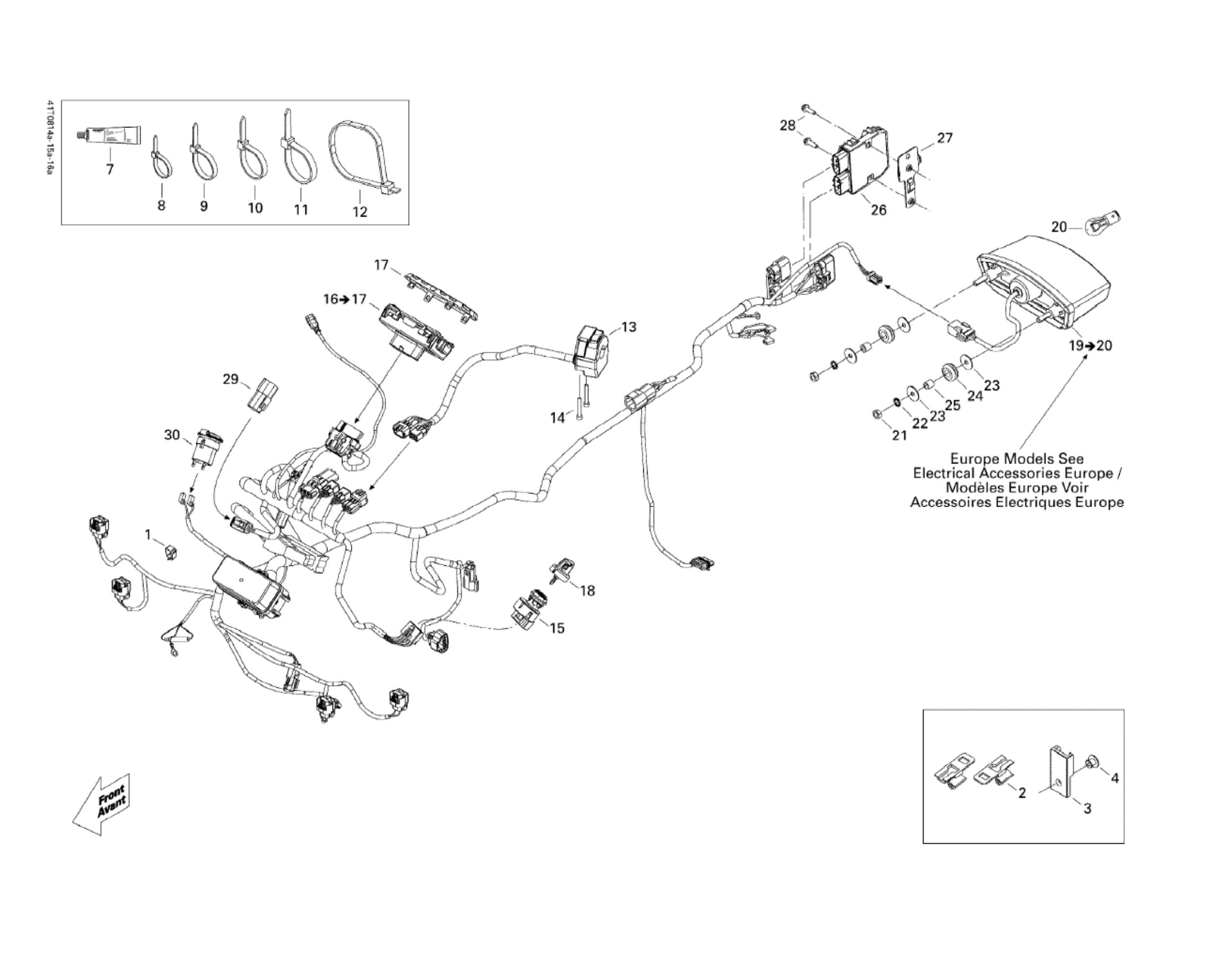 Elektrik   Motor & Rahmen   Renegade 800 X   2008   Ersatzteile Can ...